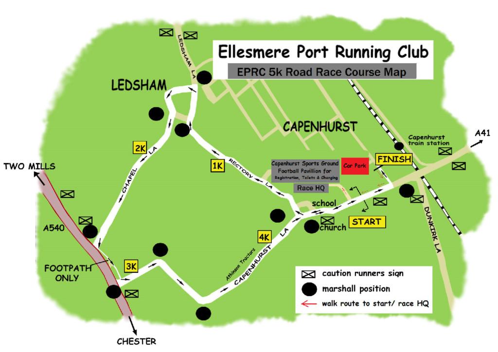 Ellesmere Port RC 5k Ellesmere Port Running Club